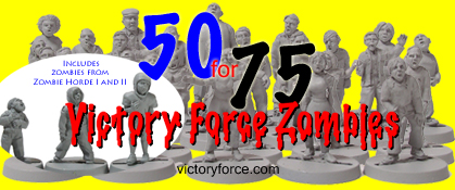 victory force zombies 28mm